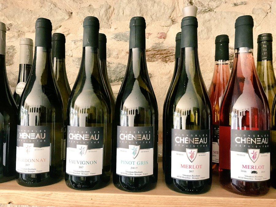 vins bouteilles Cheneau