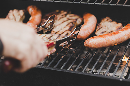 saucisses barbecue