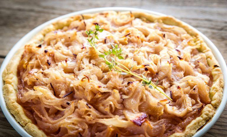 tarte oignons