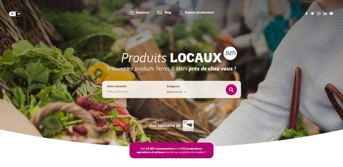 New design produits lcoaux bzh