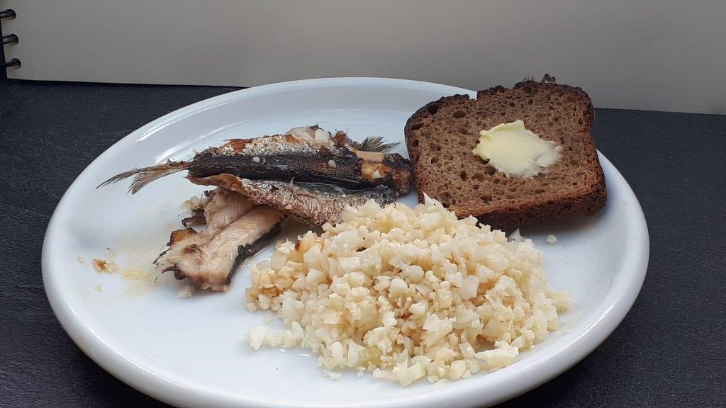 sardine et semoule