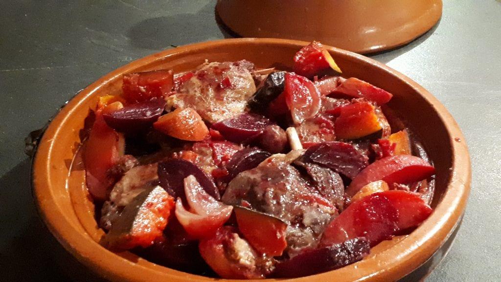 tajine betterave rouge cuite 1
