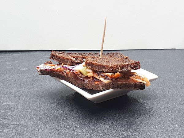 club sandwich céleri façon nordique