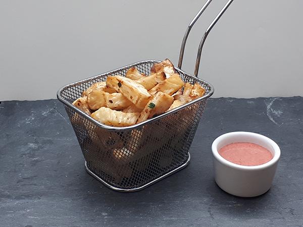 frites de céleri