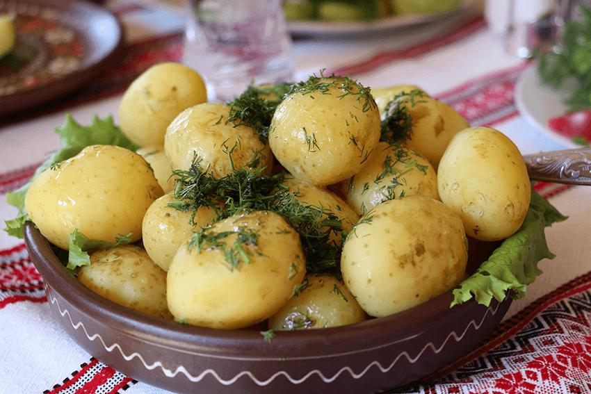 pommes de terres cuites