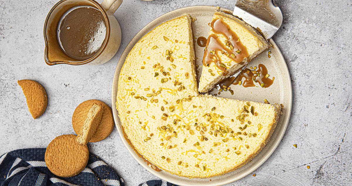 Cheesecake palets bretons caramel beurre sale au citron