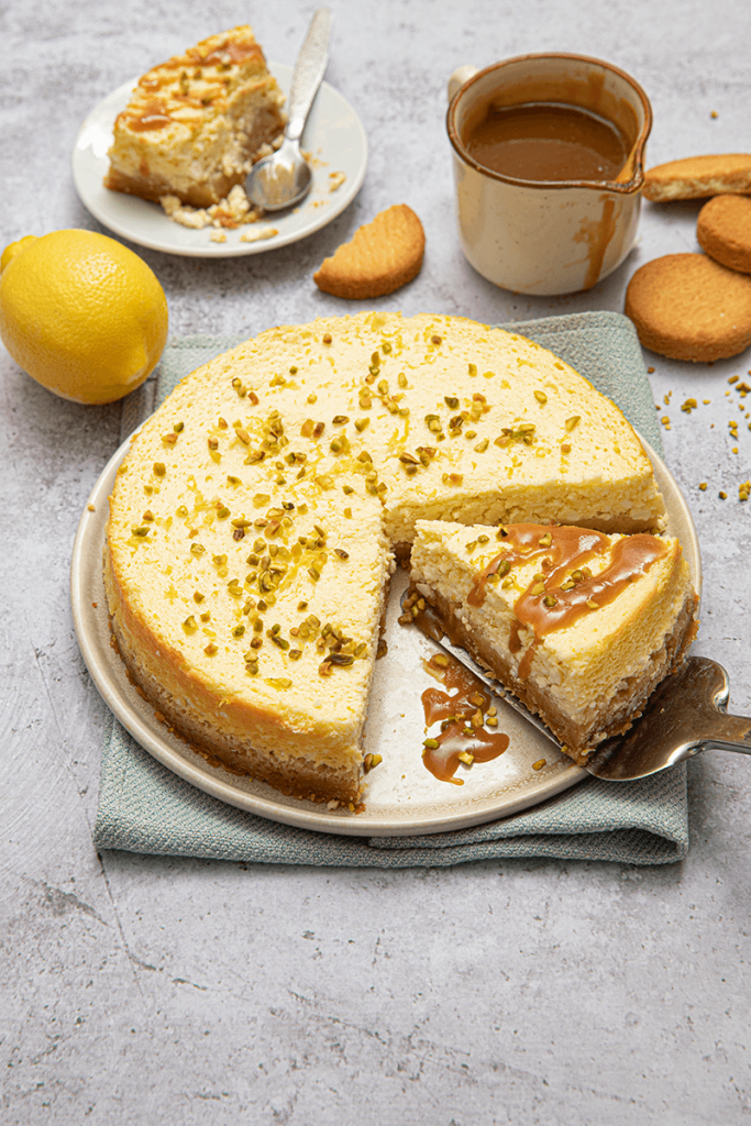 Cheesecake palets bretons caramel beurre sale au citron V3