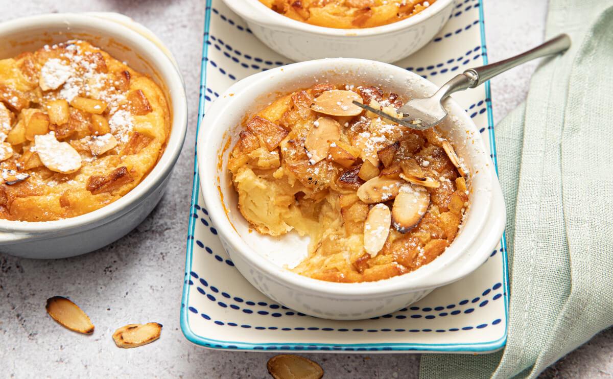 Mini-fars breton aux pommes