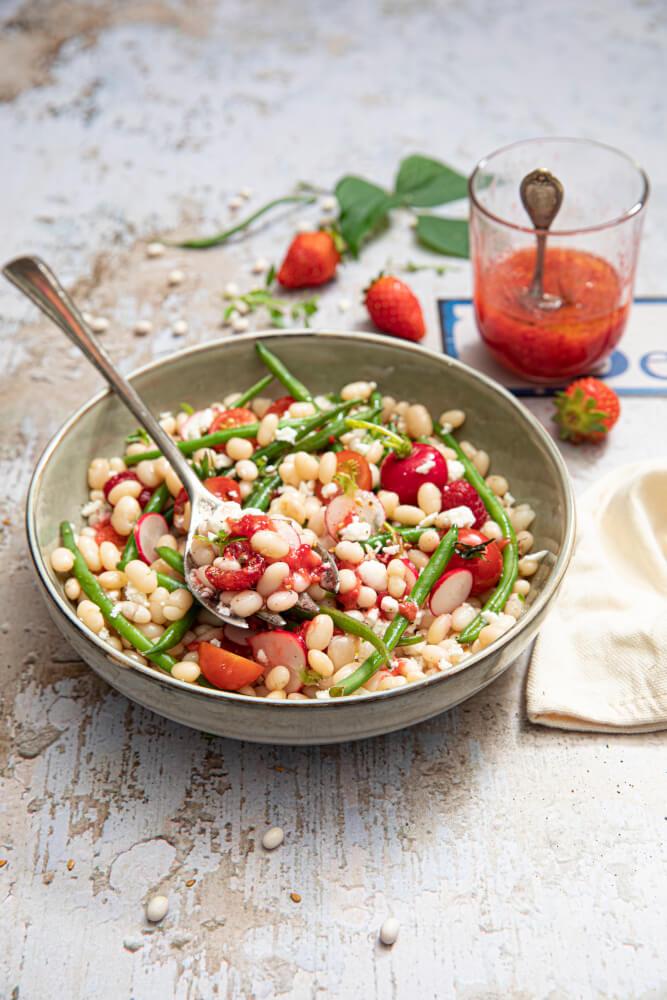 Salade de haricots coco V3